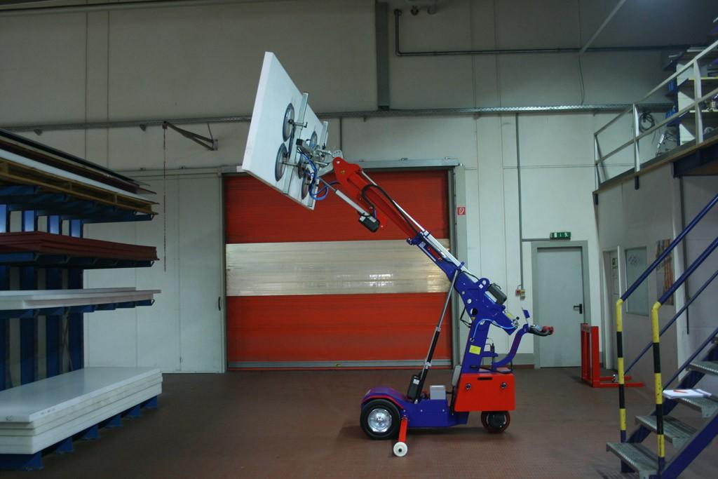 Robots de vitrage avec une télécommande industrielle
