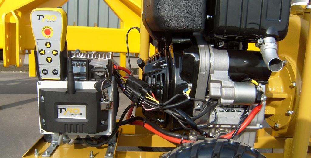 radiocommande pour la pompe
